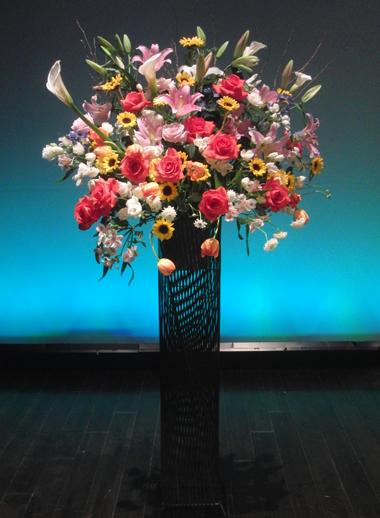 お祝いスタンド花のイメージ