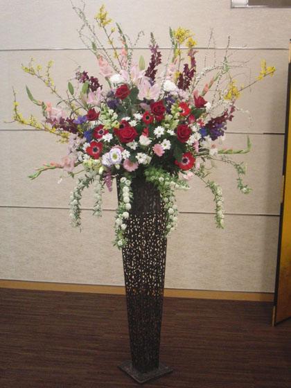 展示会御祝スタンド花のイメージ2