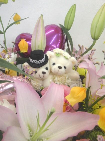 Happy Wedding!アレンジメントのイメージ2