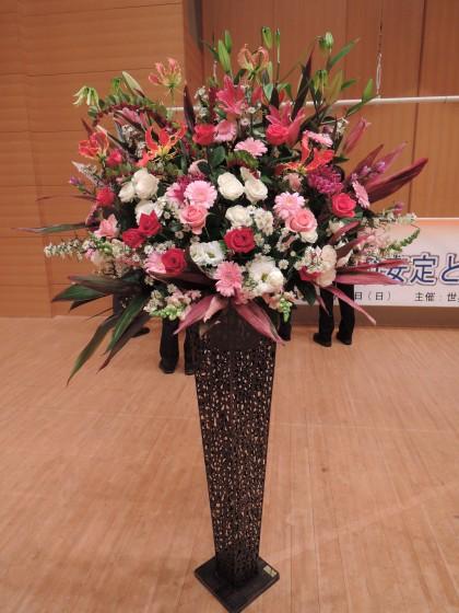 スリムアイアンスタンド花(舞台)のイメージ