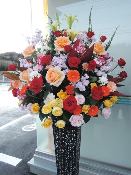 開店祝スタンド花(おまかせ) ST-27のイメージ