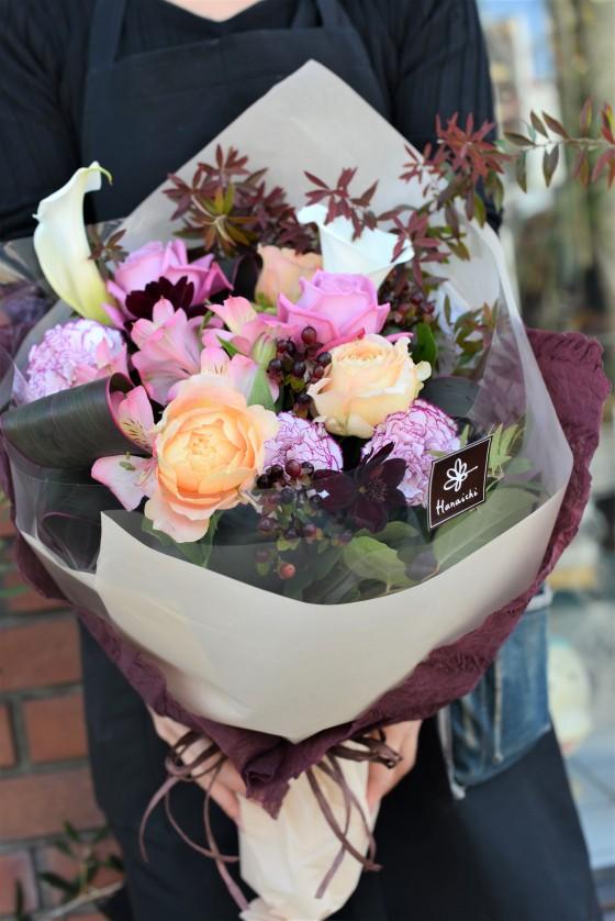 アンティークカラーの花束 HA-37のイメージ